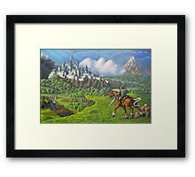 Hyrule Legend Framed Print