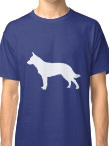 Blue Heeler Silhouette Classic T-Shirt