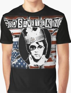 God Save The King Graphic T-Shirt