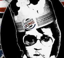 God Save The King Sticker