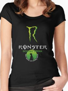 Ronster Energy Drink Women's Fitted Scoop T-Shirt