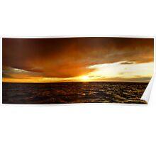Stormy Seas - off Eaglehawk Neck, Tasmania, Australia Poster