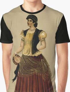Fancy dresses described or What to wear at fancy balls by Ardern Holt 110 Esmeralda Graphic T-Shirt