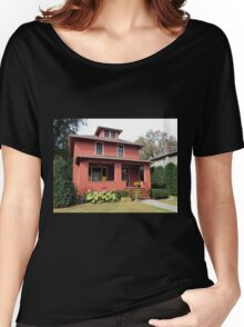 Old Stucco House, Repainted Women's Relaxed Fit T-Shirt
