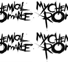 My Chemical Romance, blurry  by ClessicDobby