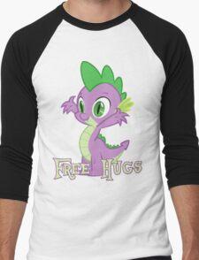 Spike Free Hugs Men's Baseball ¾ T-Shirt