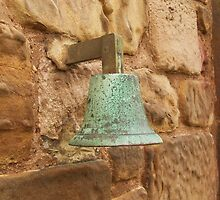 St Rule's Bell, St Rule's Tower, St. Andrews.  by LBMcNicoll