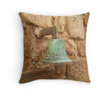 St Rule's Bell, St Rule's Tower, St. Andrews.  Throw Pillow