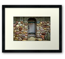 Rock Door Framed Print