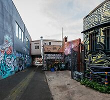 Street Art, Fitzroy by Natalie Ord