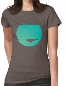Ocean Bowl Womens Fitted T-Shirt