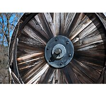 Stamp Wheel Photographic Print