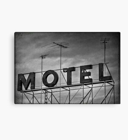 Motel # 1 Canvas Print