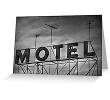 Motel # 1 Greeting Card