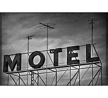 Motel # 1 Photographic Print
