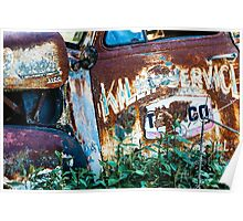 Rusty Truck #1 Poster