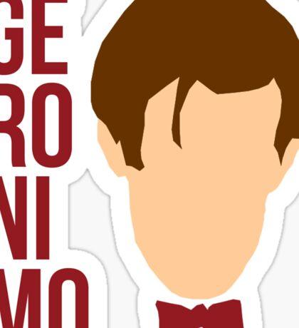 Geronimo! Sticker