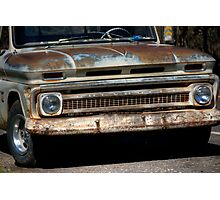 Rusty Chevy Photographic Print