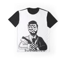 Charlie Barnes - Twin Peaks - Bastille Graphic T-Shirt