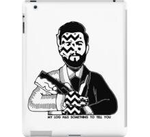 Charlie Barnes - Twin Peaks - Bastille iPad Case/Skin
