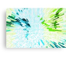 Abstract - Be Happy Canvas Print