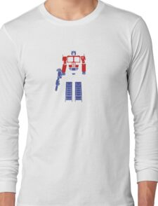 Optimus Truck Long Sleeve T-Shirt
