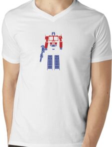 Optimus Truck Mens V-Neck T-Shirt