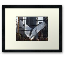 World Trade Center Transit Hub Oculus, Lower Manhattan, New York City Framed Print