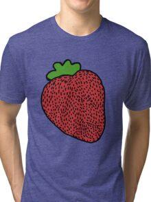Strawberry Fruit Tri-blend T-Shirt