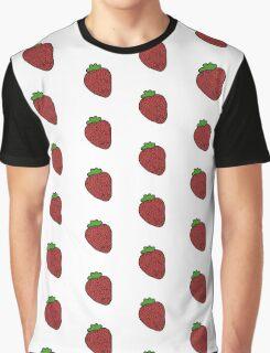 Strawberry Fruit Graphic T-Shirt