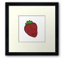 Strawberry Fruit Framed Print