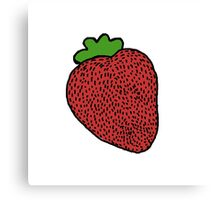 Strawberry Fruit Canvas Print
