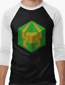 "Cube of The Trickster (The ""Lokia"" Logo) Men's Baseball ¾ T-Shirt"