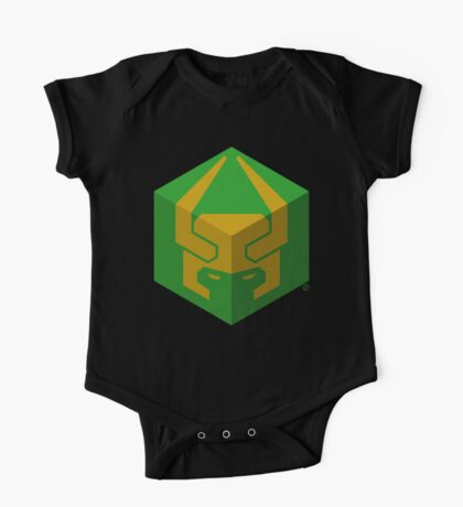 """Cube of The Trickster (The """"Lokia"""" Logo) One Piece - Short Sleeve"""