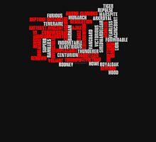 Class 50 Name Typographic Art Unisex T-Shirt