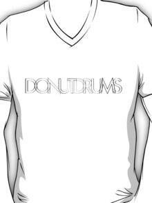 DonutDrums Hollow Black T-Shirt