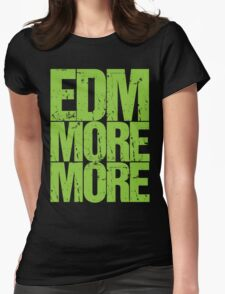 EDM MORE MORE (neon green) T-Shirt