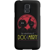 The Adventures of Doc & Marty Samsung Galaxy Case/Skin