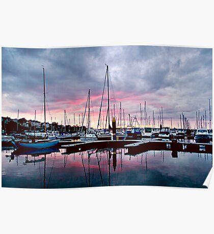 Bangor Marina No.3 Poster