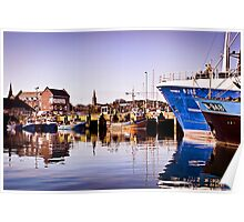 Moored Up Poster