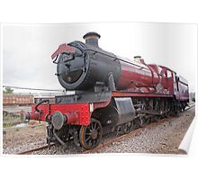 """GWR 4900 Class 5972 Olton Hall """"Hogwarts Express"""" Poster"""