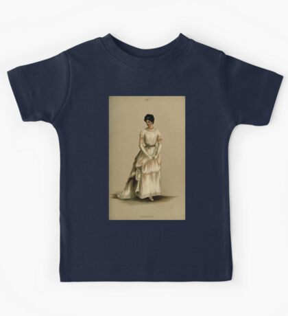 Fancy dresses described or What to wear at fancy balls by Ardern Holt 080 Classic Kids Tee