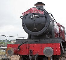 The Wizard Express GWR 4900 Class 5972 by Keith Larby