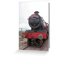 The Wizard Express GWR 4900 Class 5972 Greeting Card