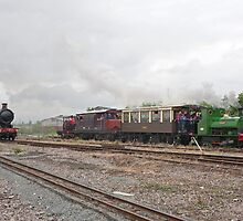Full steam ahead by Keith Larby