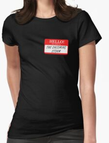 My Name is the Oncoming Storm Womens Fitted T-Shirt