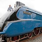 LNER Mallard no 4468 at Railfest 2012 York by Keith Larby
