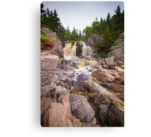 Black Brook Falls Canvas Print