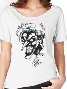 Joker - Black Women's Relaxed Fit T-Shirt