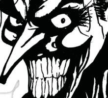 Joker - Black Sticker
